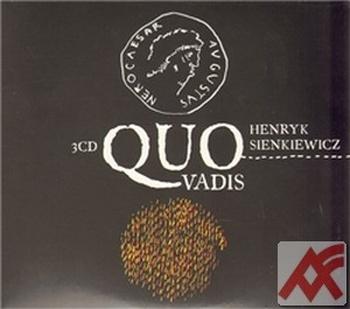 Quo vadis - 3 CD (audiokniha)