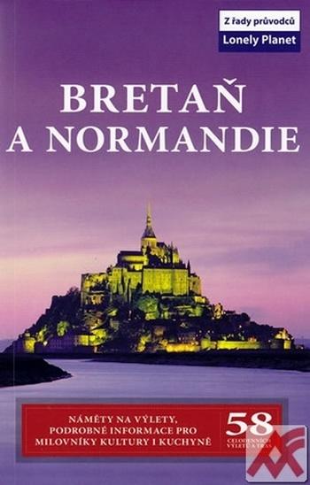 Bretaň a Normandie - Lonely Planet