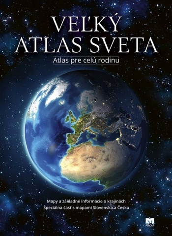 Veľký atlas sveta (staré vydanie)