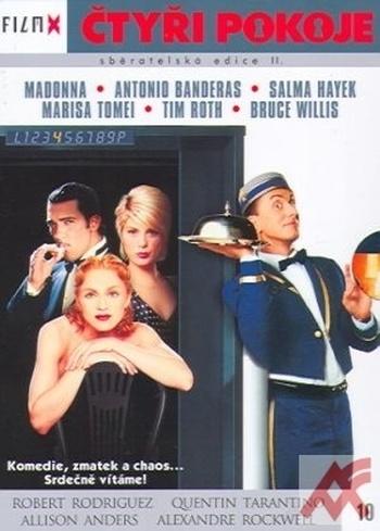 Čtyři pokoje - DVD (Film X II.)