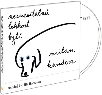 Nesnesitelná lehkost bytí - CD MP3 (audiokniha)