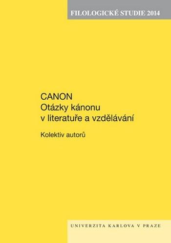Filologické studie 2014. Canon