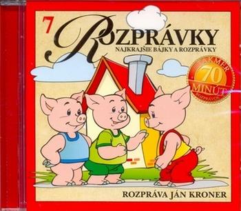 Najkrajšie bájky a rozprávky - CD (audiokniha)