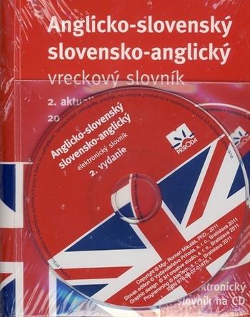 Anglicko-slovenský a slovensko-anglický vreckový slovník + CD