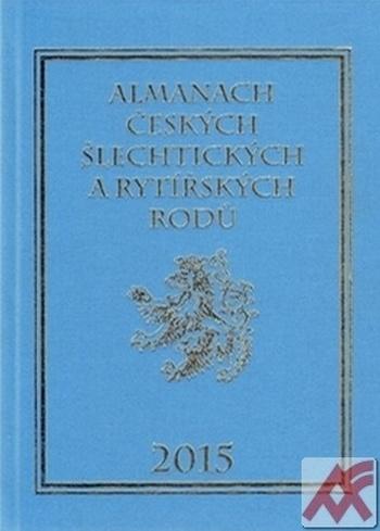 Almanach českých šlechtických a rytířských rodů 2015