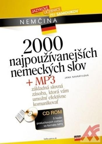 2000 najpoužívanejších nemeckých slov + MP3