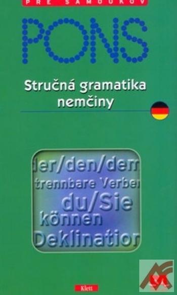 PONS - Stručná gramatika nemčiny
