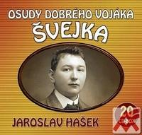 Osudy dobrého vojáka Švejka - 20 CD komplet (audiokniha)