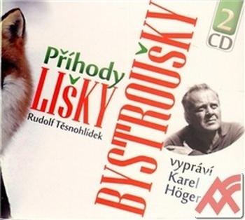 Příhody lišky Bystroušky - 2 CD (audiokniha)
