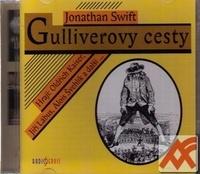 Gulliverovy cesty - 2 CD (audiokniha)
