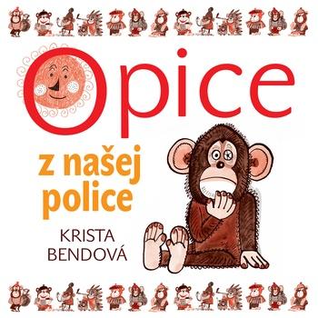 Opice z našej police - MP3 CD (audiokniha)