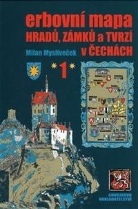 Erbovní mapa hradů, zámků a tvrzí v Čechách 1