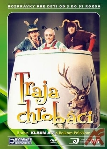Traja chrobáci - DVD