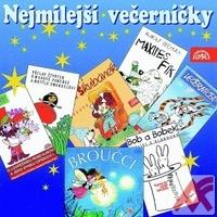 Nejmilejší večerníčky - CD (audiokniha)