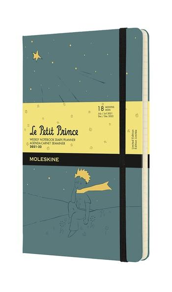 Malý princ plánovací zápisník Moleskine 2021-2022 L