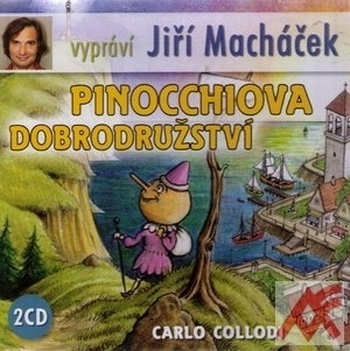 Pinocchiova dobrodružství - 2 CD (audiokniha)