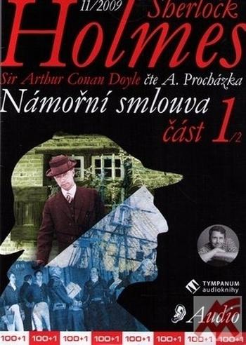 Sherlock Holmes. Námořní smlouva 1 - CD (audiokniha)