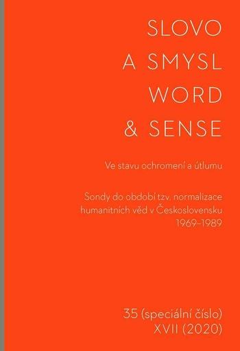 Slovo a smysl 35 / Word & Sense 35