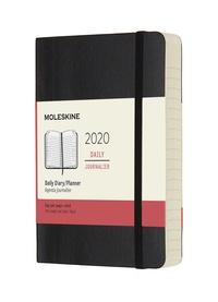 Diář Moleskine 2020 denní měkký černý S