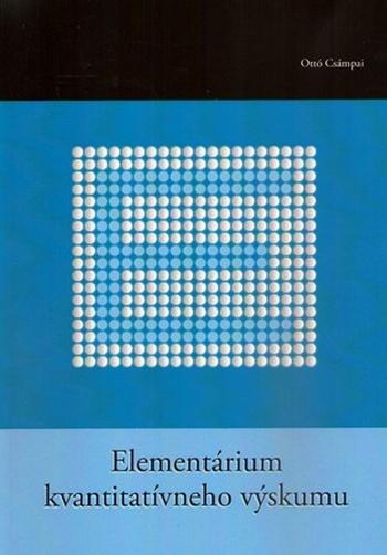 Elementárium kvantitatívneho výskumu