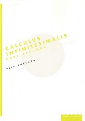 Calculus Infinitesimalis. Pars Secunda
