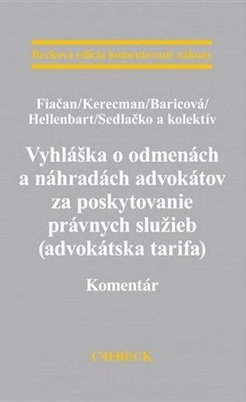Vyhláška o odmenách a náhradách advokátov za poskytovanie právnych služieb (advo