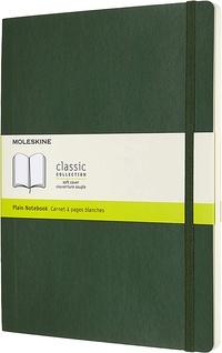 Zápisník Moleskine měkký čistý zelený XL