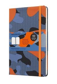 Blend zápisník linkovaný Camouflage oranžový