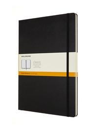 Zápisník Moleskine tvrdý linkovaný černý A4
