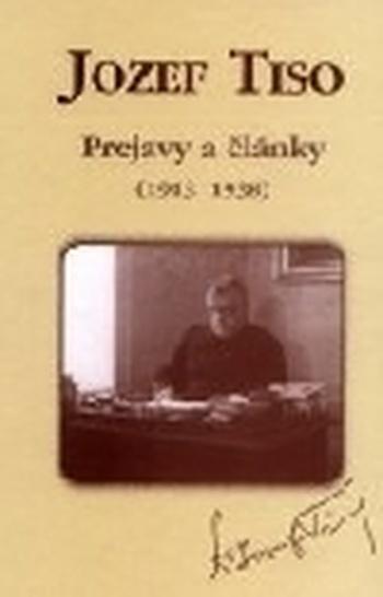 Prejavy a články zv. I. (1913-1938)