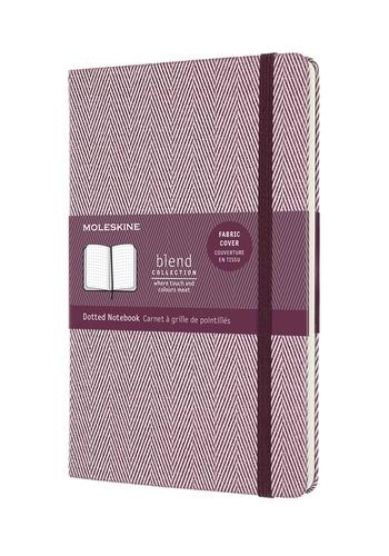 Blend zápisník Moleskine tečkovaný purpurový L