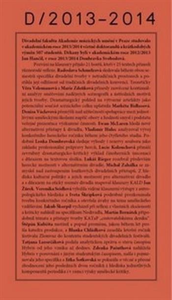 Klauzury DAMU 2013-2014