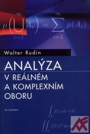 Analýza v reálném a komplexním oboru