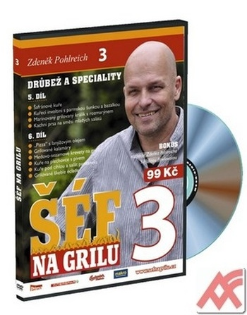 Šéf na grilu 3. - DVD