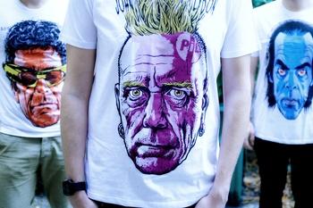 Tričko Danglár Johnny Rotten XL
