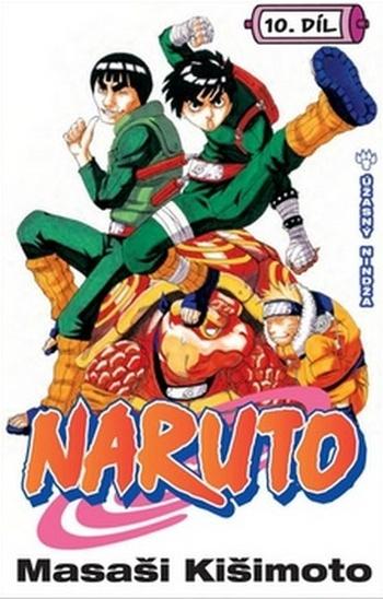 Naruto 10. Úžasný Nindža