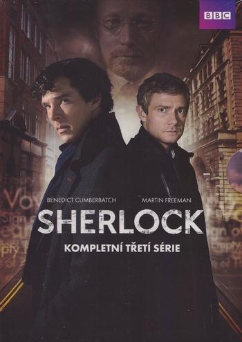Sherlock - 3. séria - 3 DVD (komplet)