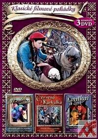 Klasické filmové pohádky 4 - box 3DVD