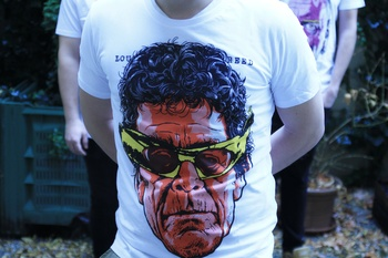 Tričko Danglár Lou Reed XL