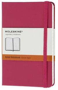 Zápisník, linkovaný, tmavě růžový S
