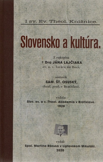 Slovensko a kultúra.