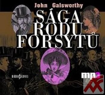 Sága rodu Forsytů - MP3 CD