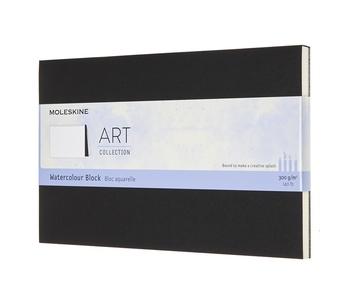 Akvarelový blok Moleskine černý L