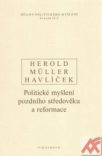 Dějiny politického myšlení II./2