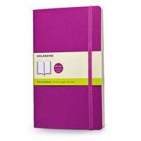 Zápisník, čistý, měkký růžový L