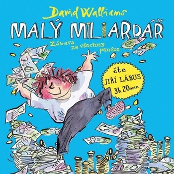 Malý miliardář - CD MP3 (audiokniha)