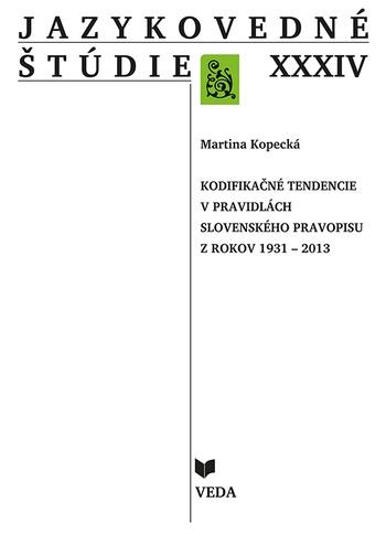 Jazykovedné štúdie XXXIV.