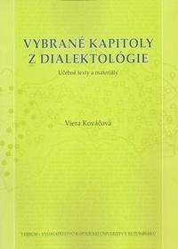Vybrané kapitoly z dialektológie