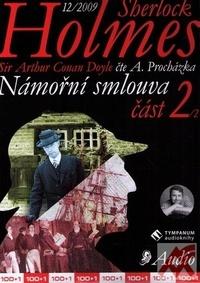 Sherlock Holmes. Námořní smlouva 2 - CD (audiokniha)