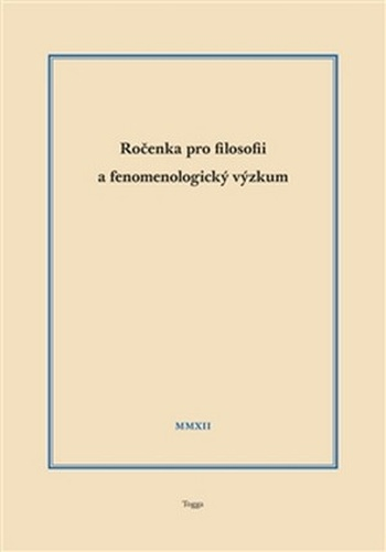 Ročenka pro filosofii a fenomenologický výzkum 2012